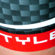 CUISSARD CYCLISME SILA CARBON STYLE ROUGE