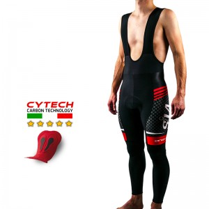 COLLANT CYCLISME SILA CARBON STYLE ROUGE