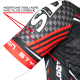 MAILLOT MANCHES COURTES CARBON STYLE Rouge
