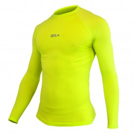 Maillot Underwear SILA PRIME Lime Punch Manches longues