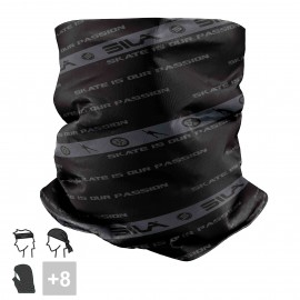 BANDANA NECK multifunction SILA - SKATE PASSION BLACK