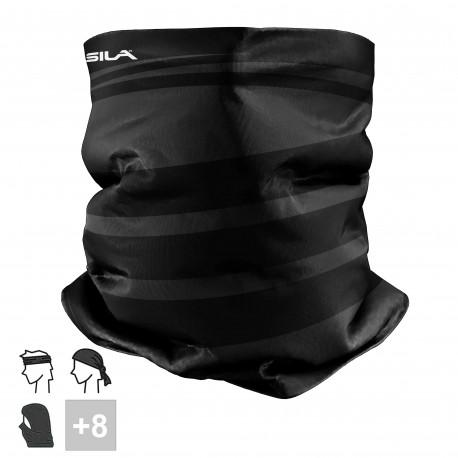 TOUR DE COU multifonction SILA - Origine style Noir / Blanc