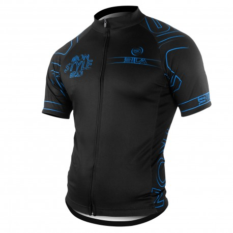 MAILLOT SILA IRON STYLE 2.0 BLANC - Manches Courtes