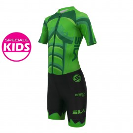 SKATING SUIT SILA HEROS STYLE ARACNA BOY - Short sleeves