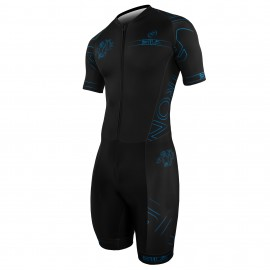 SKATING SUIT SILA IRON STYLE 2 Black - Short sleeves