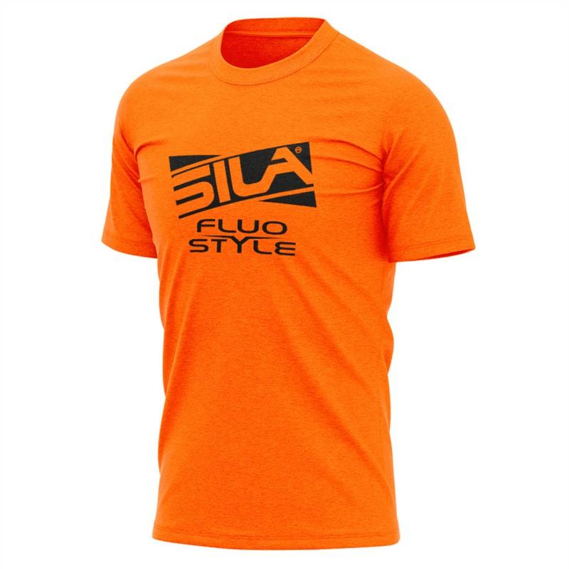 f76e8862e50 T-SHIRT SILA FLUO STYLE 3 ORANGE