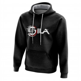 HOODIE SILA Speed & Sports Creativity BLACK/RED