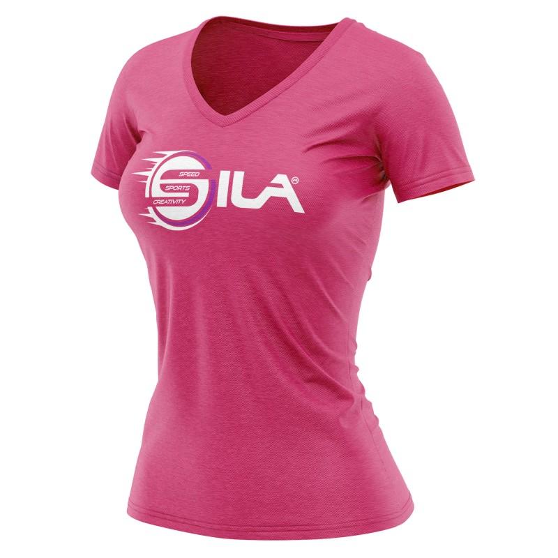 Sports Fushia Shirt Sila Speed Femme T Creativity xoCredB