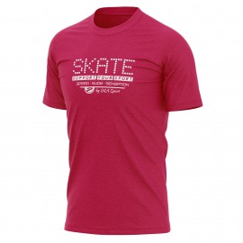 T-SHIRT SILA SKATE SUPPORT PINK