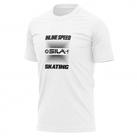 T-SHIRT SILA SKATE SUPPORT - Rose