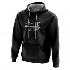 HOODIE SILA SKATE SUPPORT - Black
