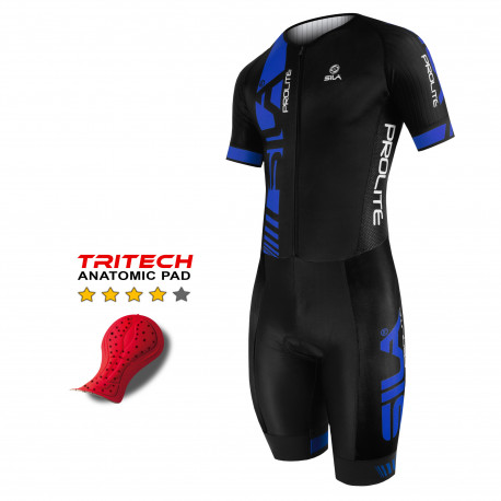 TRI SUITS PRO AERO SILA PROLITE RED - short sleeves