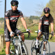 MAILLOT SILA CARBON STYLE 2 ROSE - Manches courtes