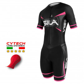 TRI SUITS PRO AEROLITE SILA TEAM - PINK - Ss