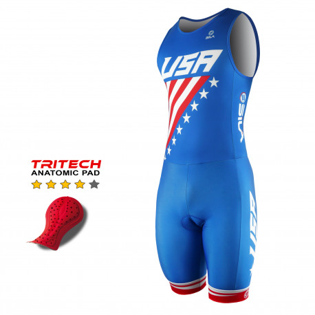TRI SUITS SILA NATION STYLE 2 USA - SL