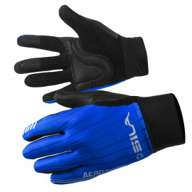 LONG GLOVES MTB SILA - PRO AERO Blue