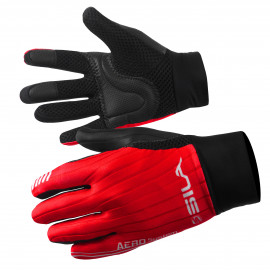 LONG GLOVES MTB SILA - PRO AERO Red