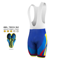 CYCLING BIB SHORT SILA NATION STYLE 2 - COLOMBIA