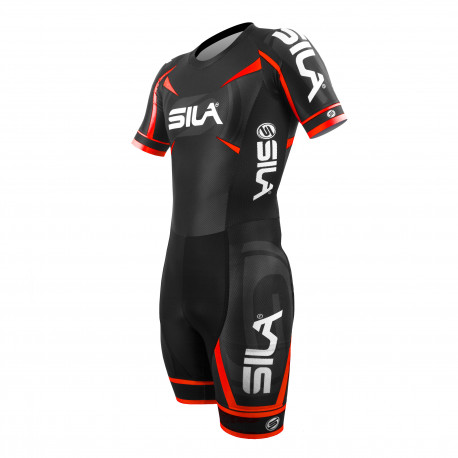 PRO SKATING SUIT SILA TEAM - RED - Ss