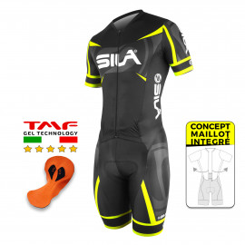 CYCLING SKINSUIT - SILA PRO R-GIRO - YELLOW FLUO - Ss