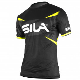 MAILLOT RUNNING HOMME - PRO ULTRALIGHT - SILA TEAM - JAUNE FLUO - Mc