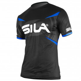 MAILLOT RUNNING HOMME - PRO ULTRALIGHT - SILA TEAM - CYAN - Mc