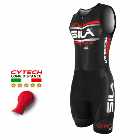 TRISUIT CARBON STYLE 2 - RED