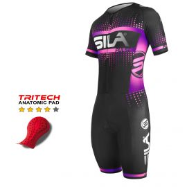 TRI SUITS PULSE STYLE SILA RED Fire - SS