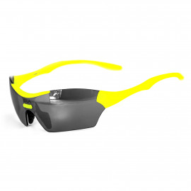 SUNGLASSES SILA TRIGO - FLUO YELLOW - SILVER MIRROR LENSES