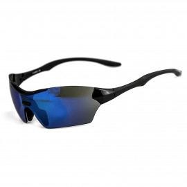 SUNGLASSES SILA TRIGO - BLACK - IRIDIUM BLUE LENSES