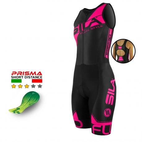 TRI SUITS SILA FLUO STYLE 3 PINK - Sl