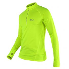 MAILLOT RUNNING - SILA PRIME NOIR - Manches longues