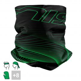 BANDANA NECK multifunction SILA - VORTEX Green