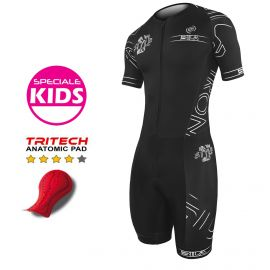 TRI SUITS SILA IRON STYLE 2.0 WHITE - KIDS - SS
