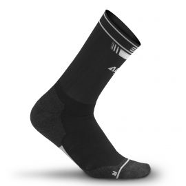 MEDIUM HEIGHT SOCKS PRO AERO SILA - BLACK