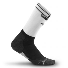 MEDIUM HEIGHT SOCKS PRO AERO SILA - WHITE