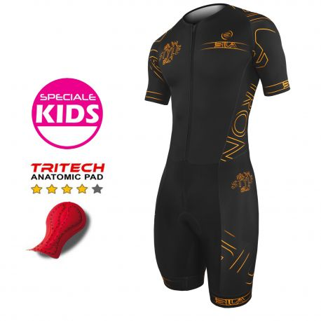 KID TRISUIT IRON STYLE 2.0 ORANGE