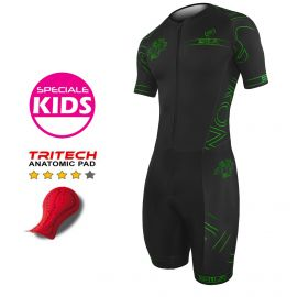 KID TRISUIT IRON STYLE 2.0 GREEN