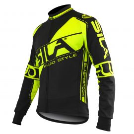 JERSEY/JACKET MID SEASON SILA FLUO STYLE 3 YELLOW-long sleeves