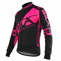 JERSEY/JACKET MID SEASON SILA FLUO STYLE PINK-long sleeves