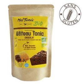 Chocolate, honey & royal jelly - Organic energy cake