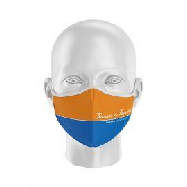 Masque Barrière TERRES DE FENETRE - Réutilisable et lavable