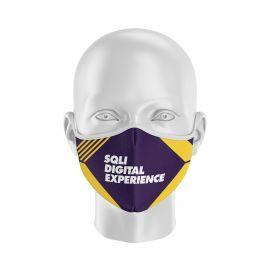 Masque Barrière SQLI - Réutilisable et lavable