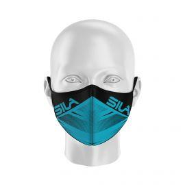 Masque de Protection SILA FUSION BLEU - Réutilisable et lavable