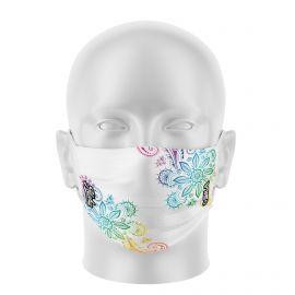 Masque de Protection SILA ALOHA BLANC - Réutilisable et lavable