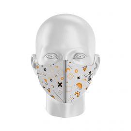 Masque de Protection SILA GEOMETRIC - Réutilisable et lavable