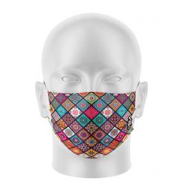 Masque de Protection SILA BOHO - Réutilisable et lavable