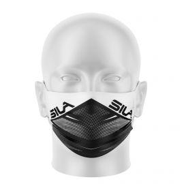 Masque de Protection SILA FUSION BLANC - Réutilisable et lavable - Forme Plate