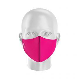LOT Masques de Protection PRIME Rose - Réutilisable et lavable - Forme Coquille