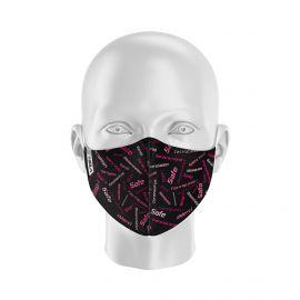 Masque de Protection SILA SAFE ROSE - Réutilisable et lavable